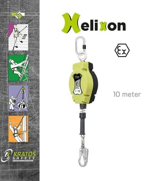 Staalkabel Valstopblok 10 Meter Kratos Helixon FA2040210B