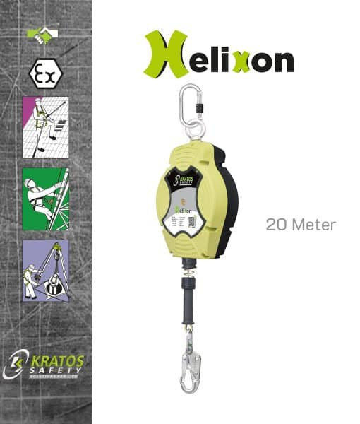 Staalkabel Valstopblok 20 Meter Kratos Helixon FA2040220