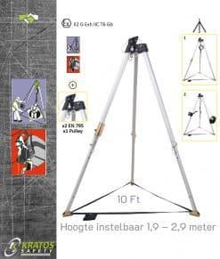 Driepoot Statief 10 Ft Kratos FA6000200