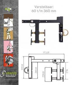 Valbeveiliging Borstwering Ankerpunt Wallution FA6001000