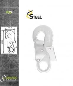 Automatische haak Staal 17mm FA5020217